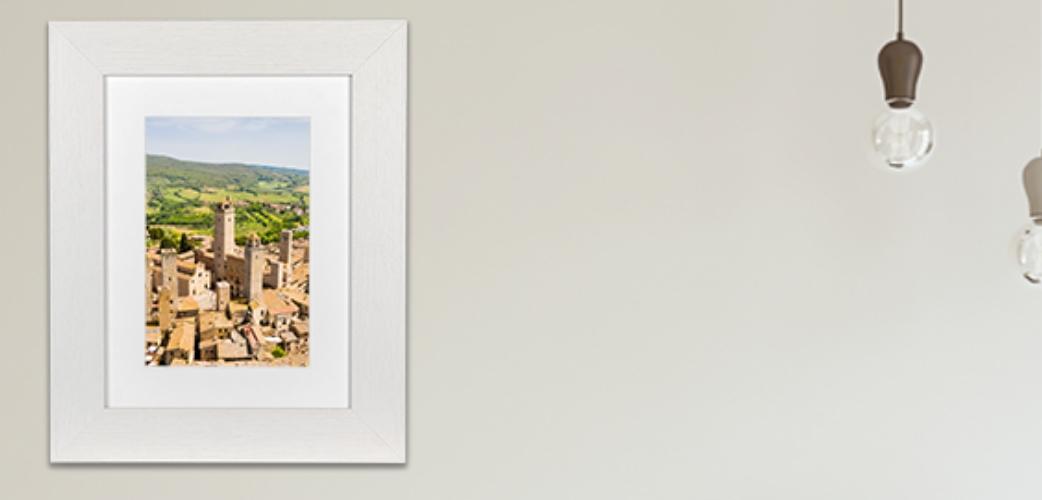 Fotolijsten Milano Wit