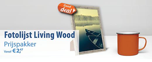 Fotolijstjes Living Wood Sfeer