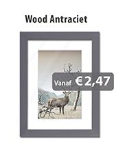 Fotolijstjes Wood Antraciet
