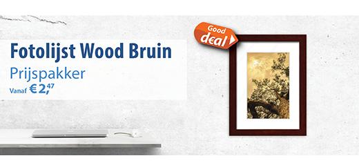 Fotolijstjes Wood Bruin Sfeer