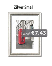 Fotolijstjes Zilver Smal