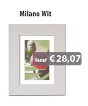 Wissellijsten Milano Wit
