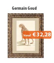 Wissellijst Germain Goud