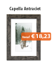 Wissellijst Capella Antraciet
