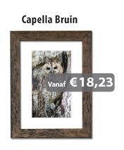 Wissellijst Capella Bruin