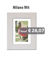 Wissellijst Milano Wit